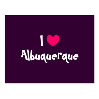 I Love Albuquerque Postcard