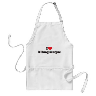 I Love Albuquerque Standard Apron