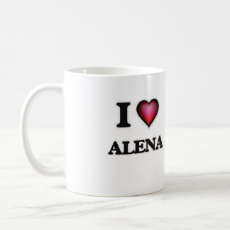 I Love Alena Coffee Mug