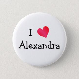 I Love Alexandria 2 Inch Round Button