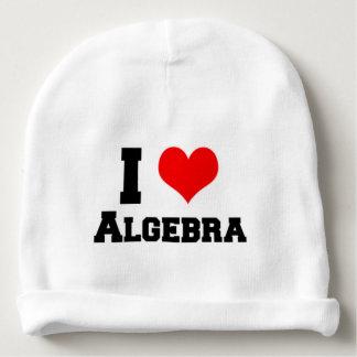I LOVE ALGEBRA BABY BEANIE