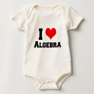 I LOVE ALGEBRA BABY BODYSUIT