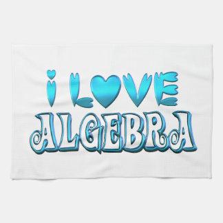 I Love Algebra Kitchen Towel