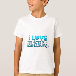 I Love Algebra T-Shirt