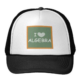 I Love Algebra Trucker Hat