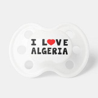 I Love Algeria Pacifier
