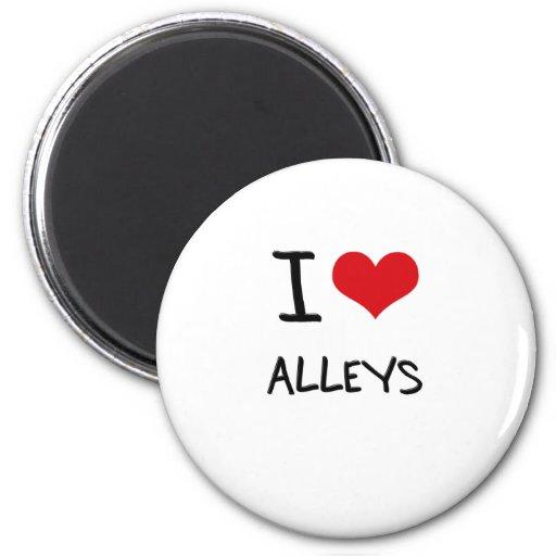 I Love Alleys Magnet