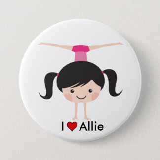 I Love Allie Twinpossible Button