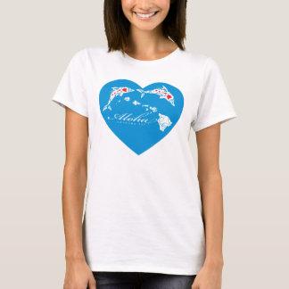 I Love Aloha Hawaii Islands T-Shirt