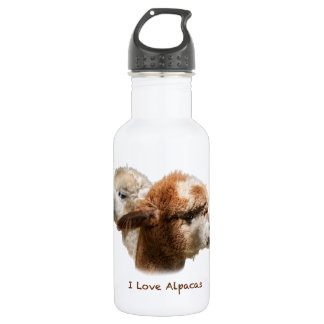 I Love Alpacas 532 Ml Water Bottle
