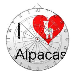 I love alpacas dartboard