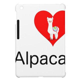 I love alpacas iPad mini cover
