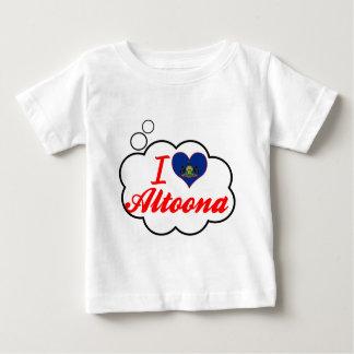 I Love Altoona, Pennsylvania Baby T-Shirt
