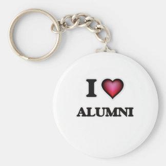 I Love Alumni Keychain