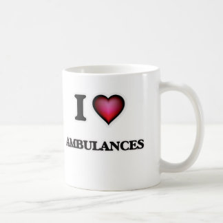 I Love Ambulances Coffee Mug