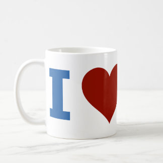 I Love America Coffee Mug