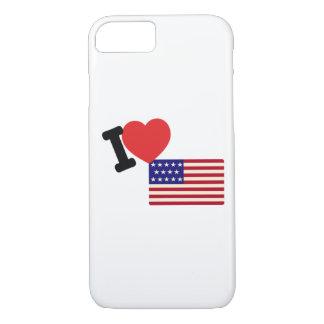 I love America iPhone 7 Case