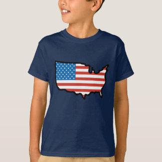I Love America - United States Flag T-Shirt