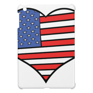 I love America -  United States of America pride Cover For The iPad Mini