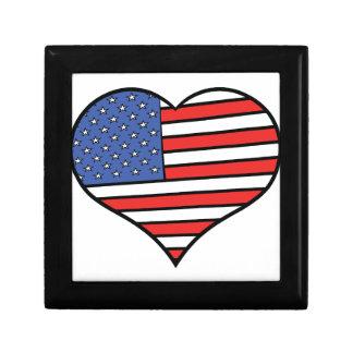I love America -  United States of America pride Gift Boxes