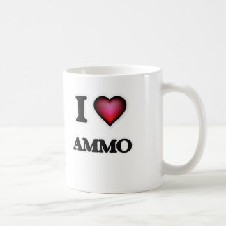 I Love Ammo Coffee Mug