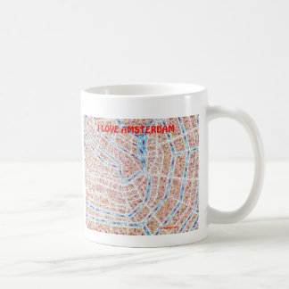 I LOVE AMSTERDAM COFFEE MUG