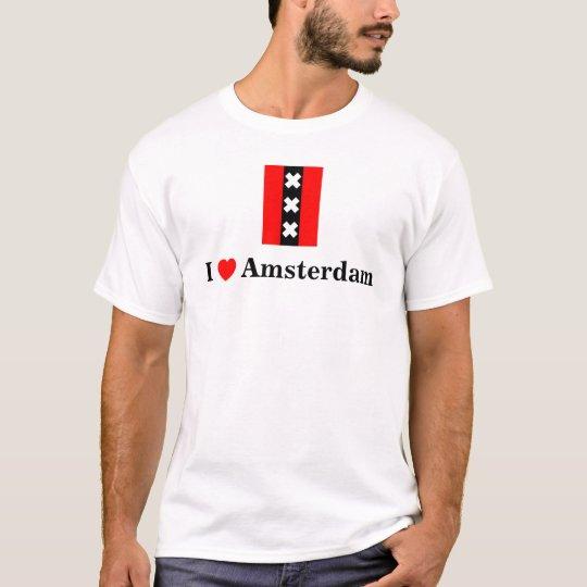 I love Amsterdam (incl. Amsterdam logo) T-Shirt