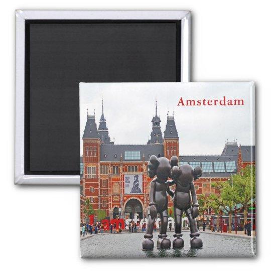I love Amsterdam. Magnet