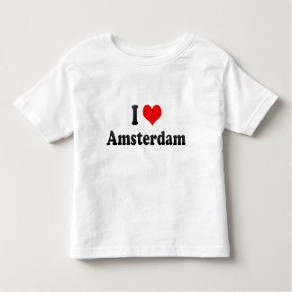 I Love Amsterdam, Netherlands Toddler T-shirt