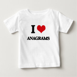 I Love Anagrams Baby T-Shirt