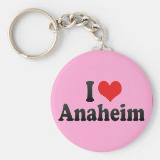 I Love Anaheim Keychain