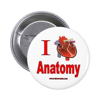I love anatomy 2 inch round button