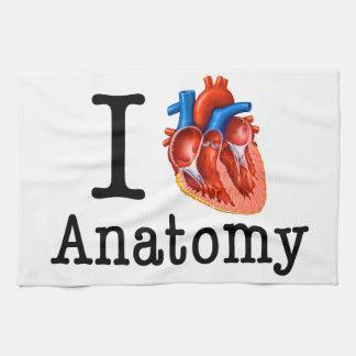 I love Anatomy Kitchen Towel