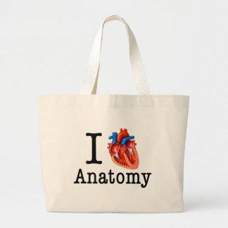 I love Anatomy Large Tote Bag