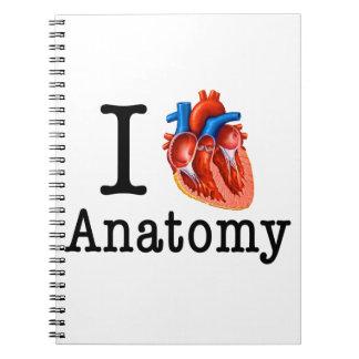 I love Anatomy Notebook