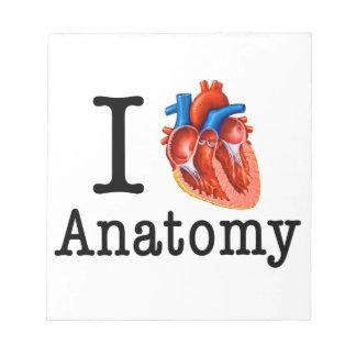I love Anatomy Notepad