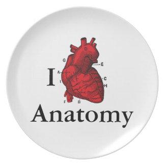 I Love Anatomy Plate