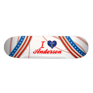 I Love Anderson, Wisconsin Skateboard Decks
