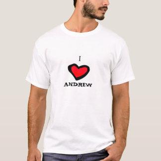 I love andrew T-Shirt