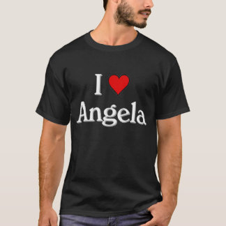 I love Angela T-Shirt