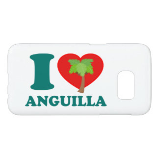 I Love Anguilla Samsung Galaxy S7 Case