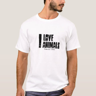 I Love Animals, Delicious ..mmm T-shirt