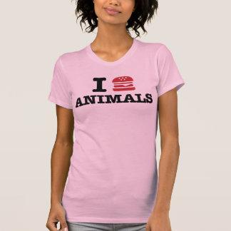 i love animals tees