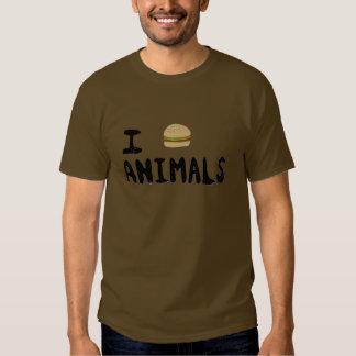 I Love Animals Tshirts
