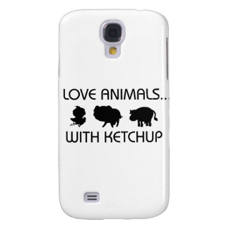 I Love Animals With Ketchup