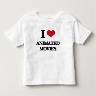 I love Animated Movies Tshirts