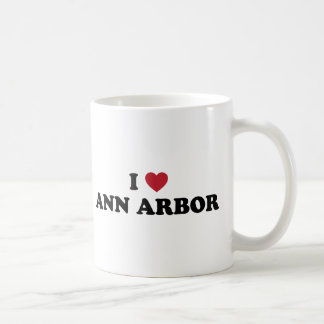 I Love Ann Arbor Michigan Coffee Mug