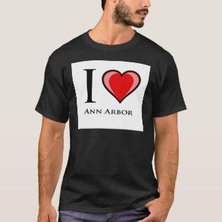 I Love Ann Arbor T-Shirt