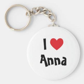 I Love Anna Keychain