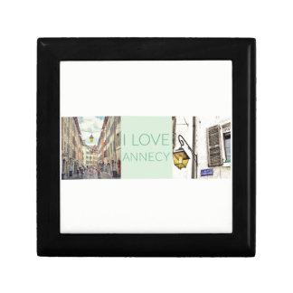 """I Love Annecy"" Jewellery/Gift Box"